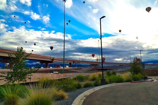 Balloon Fiesta and Paseo Del Norte