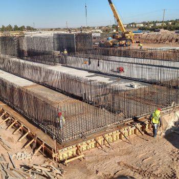 Photo 2 - CRRUA N WWTP Concrete Work