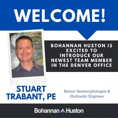 New Hire announcement - S Trabant